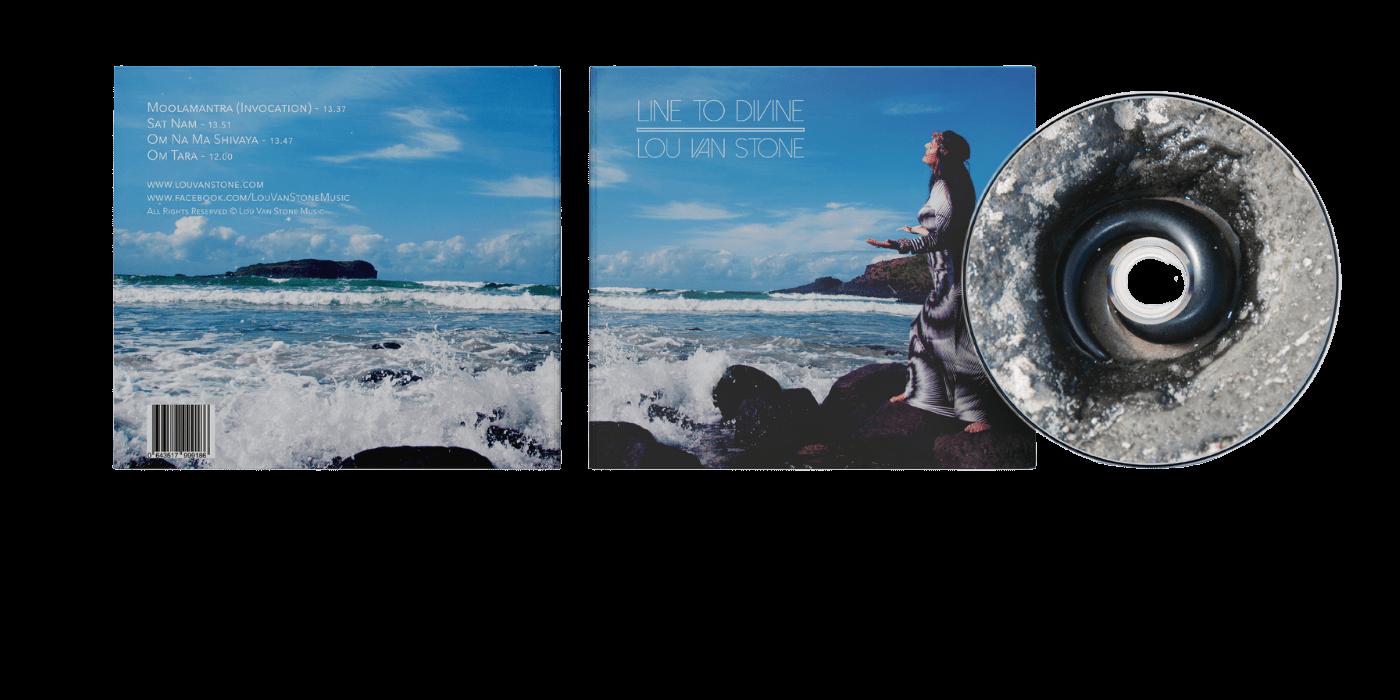 Cd cover mockup for website Avelina Studio